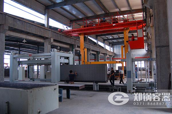 河北保定蒸压砖生产线27米蒸压釜项目