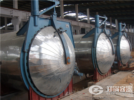 郑锅容器 25米快开门蒸压釜 - 2