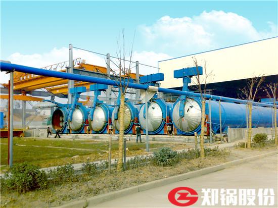 郑锅容器 26米快开门蒸压釜 - 3