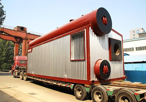 郑锅容器 SZS15吨燃气蒸汽锅炉 - 4