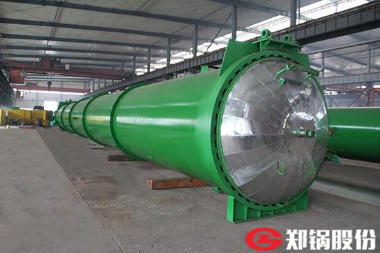 郑锅容器 21米快开门蒸压釜 - 2