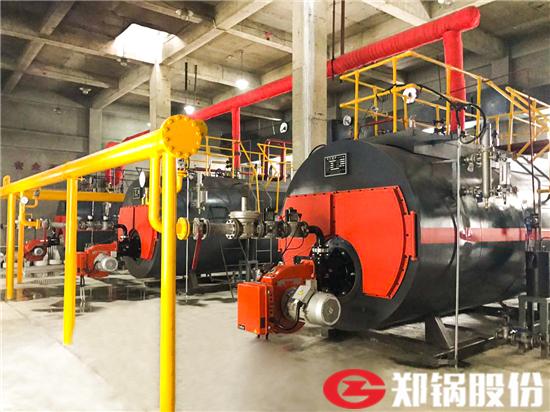 建材生产线用6吨天然气蒸汽锅炉