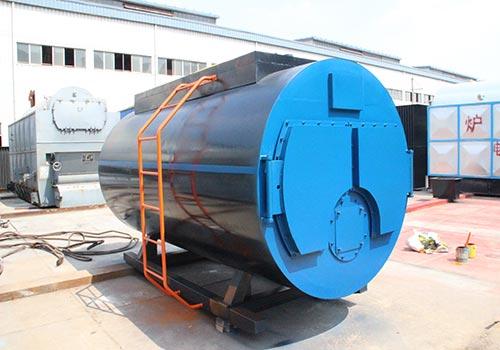 WNS4吨燃气蒸汽锅炉