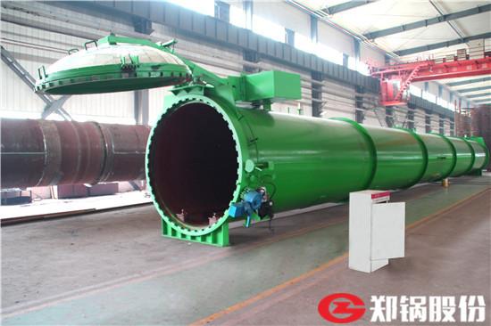 郑锅容器 22米快开门蒸压釜 - 3