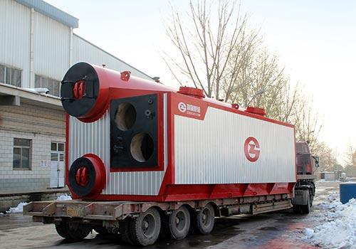 郑锅容器 SZS6吨燃气蒸汽锅炉 - 3