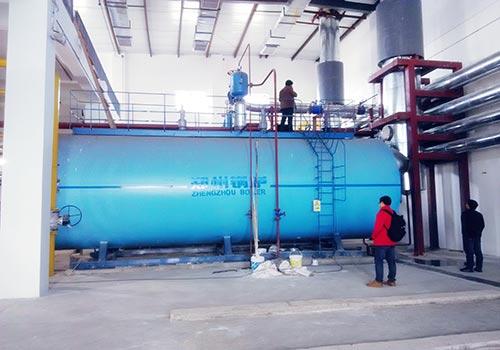 SZS35吨燃气蒸汽锅炉