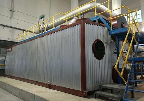 SZS10吨燃气蒸汽锅炉