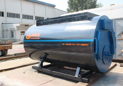 郑锅容器 WNS10吨燃气蒸汽锅炉 - 1