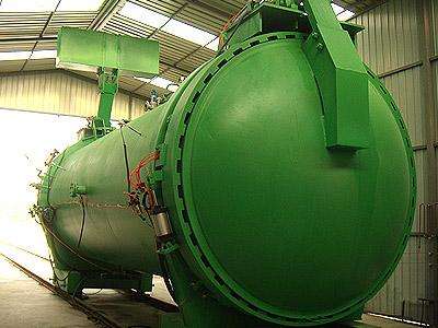 郑锅容器 21米快开门蒸压釜 - 1