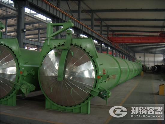 郑锅容器 27米快开门蒸压釜 - 2