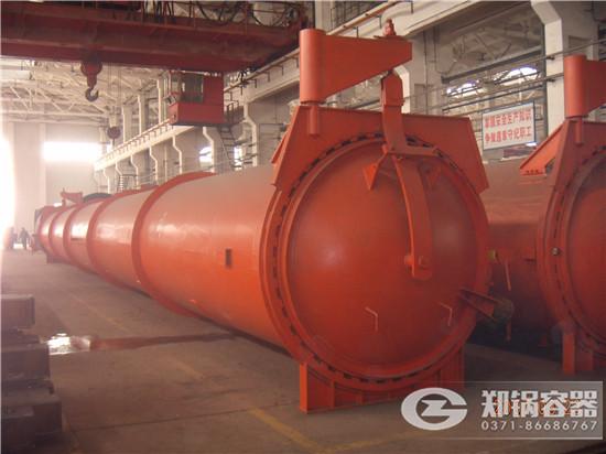 郑锅容器 22米快开门蒸压釜 - 2