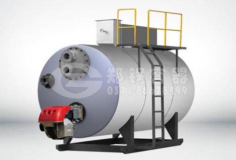 真空燃气热水锅炉的工作原理