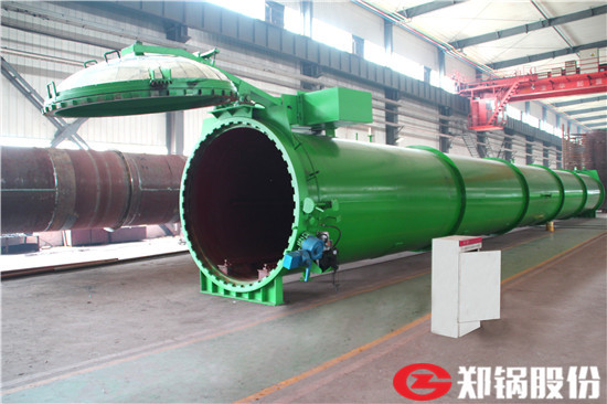 郑锅容器 26米快开门蒸压釜 - 1