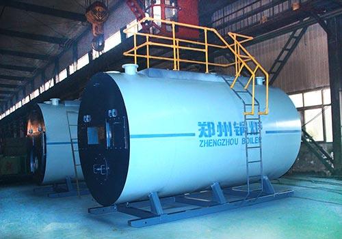 郑锅容器 WNS8吨燃气蒸汽锅炉 - 3