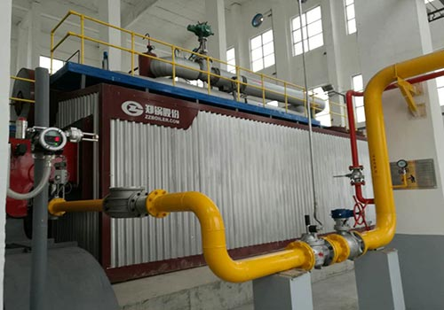 郑锅容器 SZS10吨燃气蒸汽锅炉 - 2