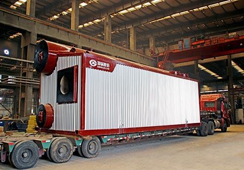 郑锅容器 SZS10吨燃气蒸汽锅炉 - 4