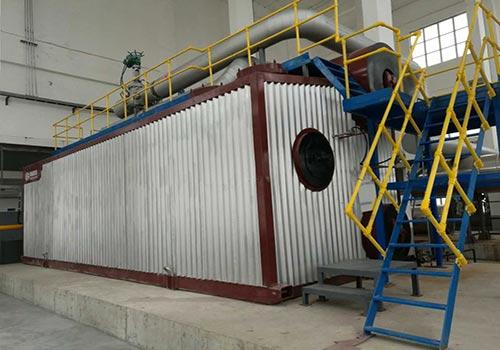 郑锅容器 SZS10吨燃气蒸汽锅炉 - 3